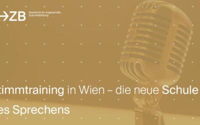 Stimmtraining in Wien – die neue Schule des Sprechens