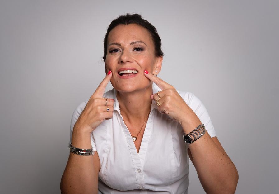 Stimm- und Sprechtrainerin Petra Falk