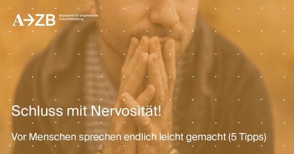 Schluss mit Nervosität: Vor Menschen sprechen endlich leicht gemacht (5 praktische Tipps)